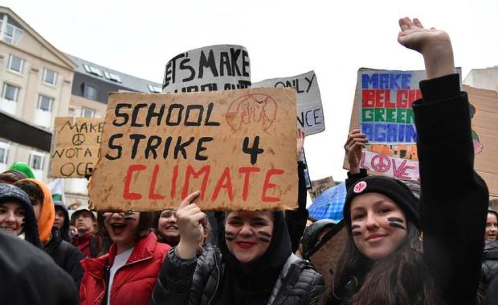 climate strike march 15 - photo #10