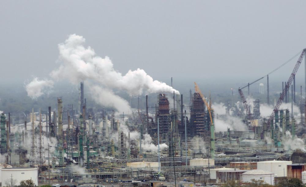 Exxon Mobil Refinery in Baton Rouge, Louisiana