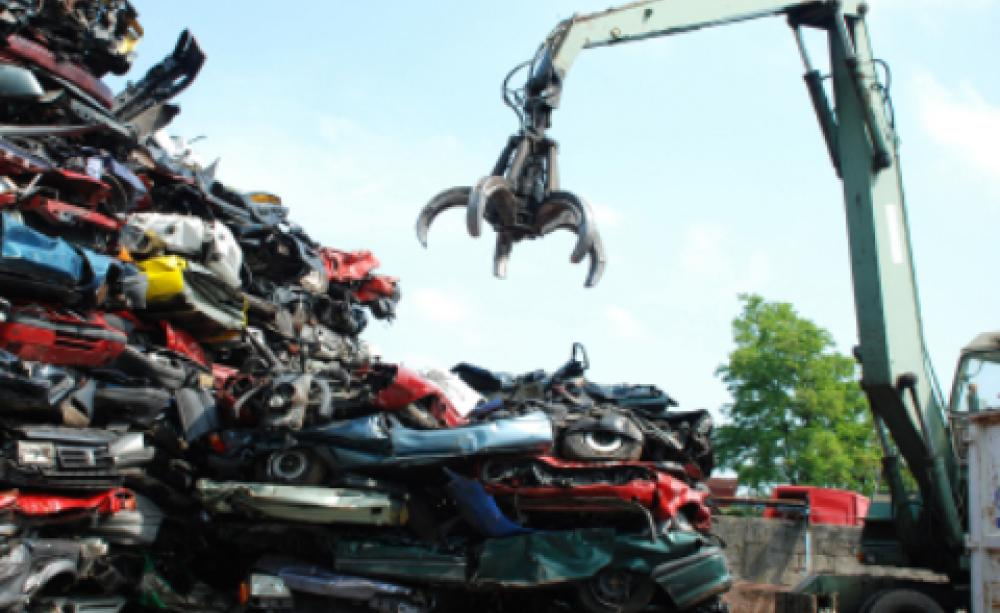 Recycle your car, don\'t scrap it