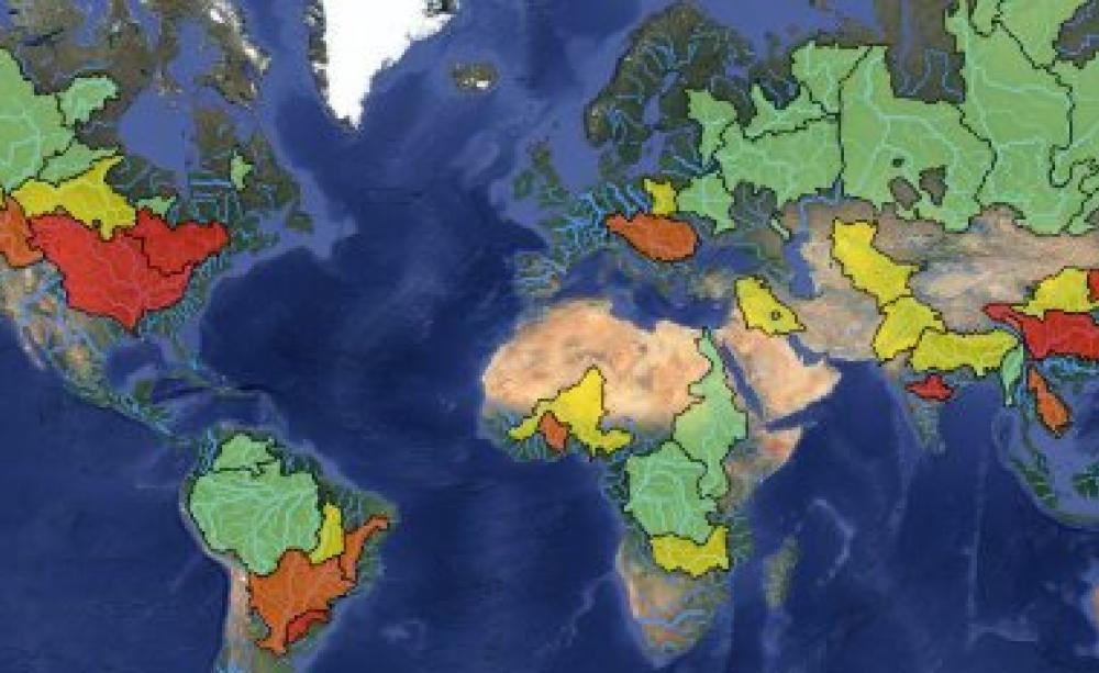 Dams Versus Rivers The Global Battle - Worlds major rivers