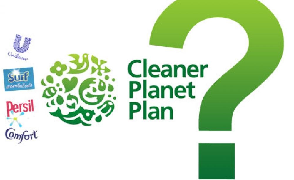 Cleaner Planet plan: a green wash or greenwash?