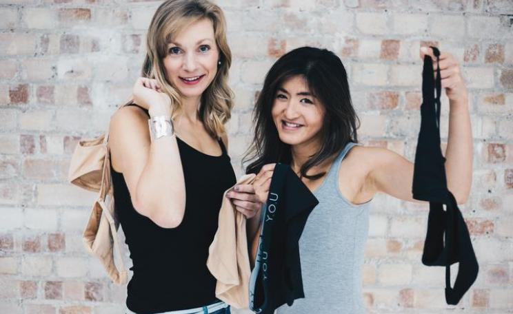 Lily and Sarah, the Founders of Y.O.U underwear.