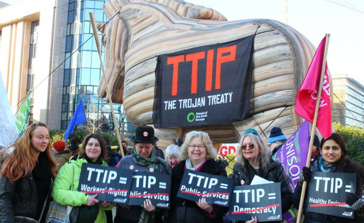 TTIP protesters