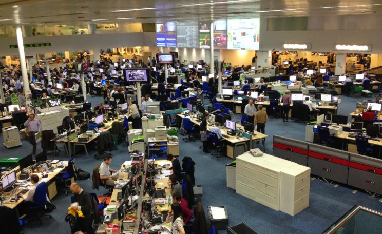 Telegraph newsroom