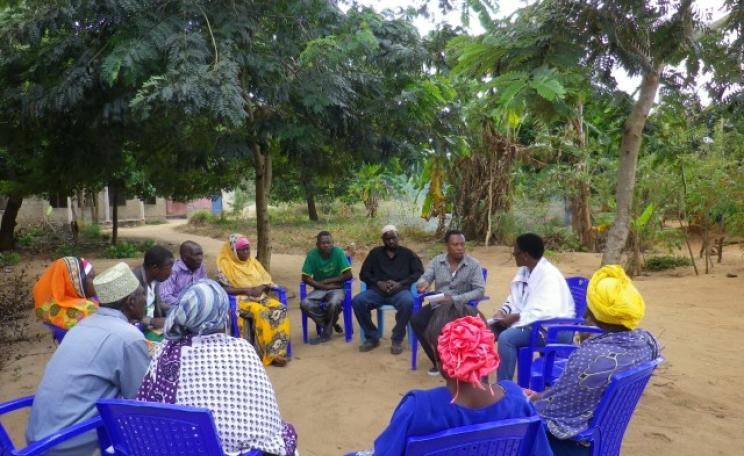Tanzania community forests meeting