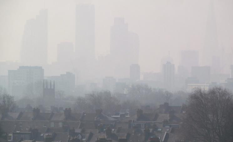 Air pollution in London (2015)