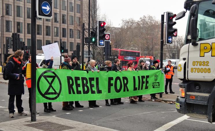 Extinction Rebellion roadblock