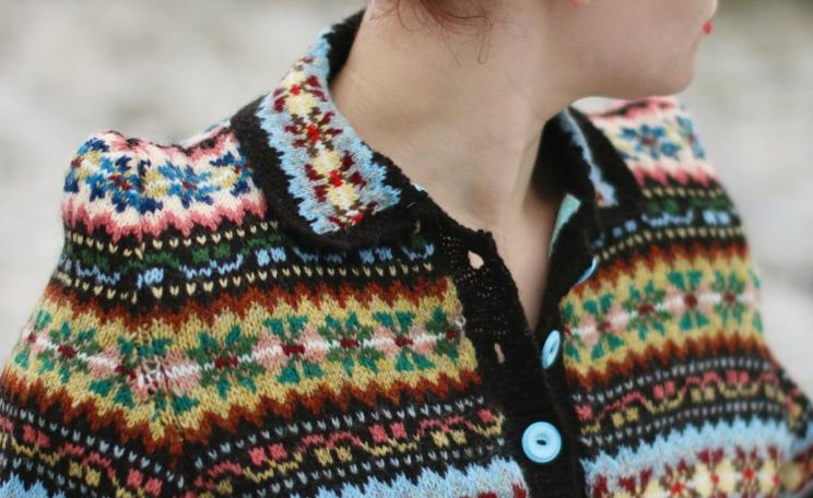 Peerie Clews cardigan