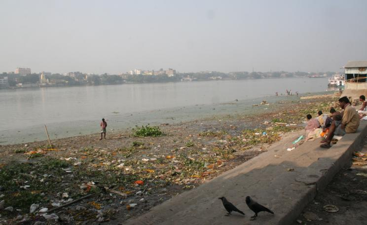 Pollution in the River Ganges