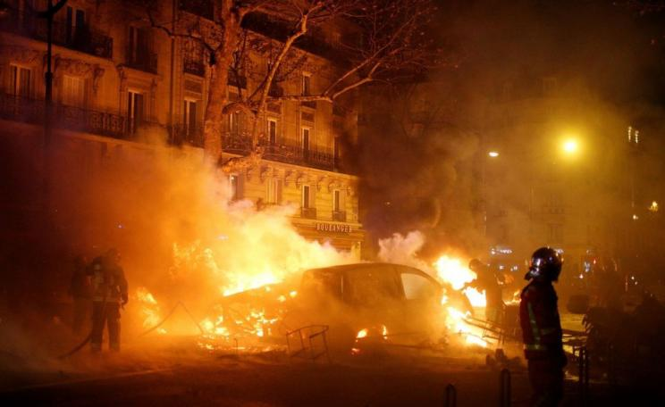 Riots in Paris