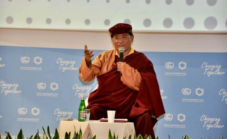 Gyalwang Drukpa at COP24