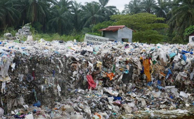 UK waste at Malaysian recycling factory - new waste strategy should reduce exports