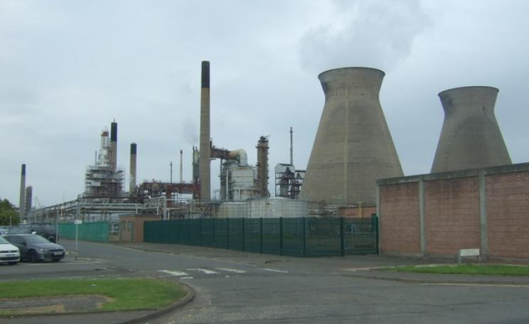 Ineos petrochemical works