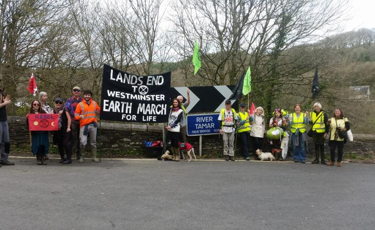 Cornwall Earth March