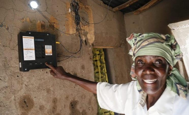 Tanzanian Elizabeth Mukwimba, without a grid connection