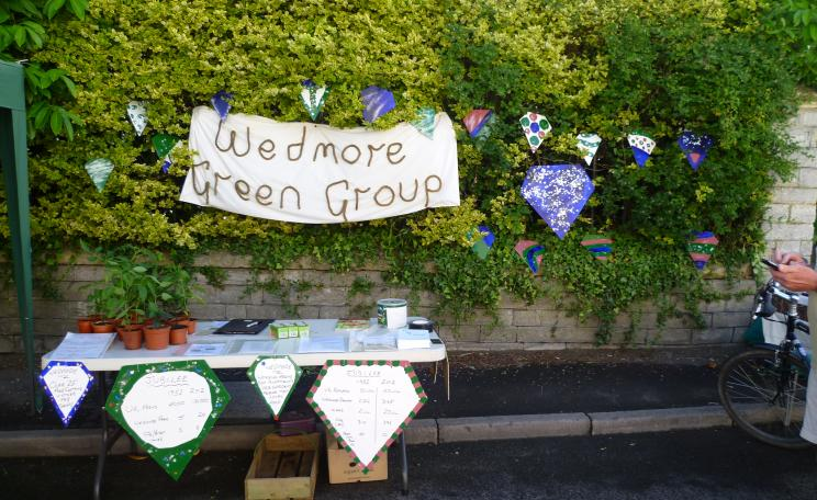 Wedmore green group sign