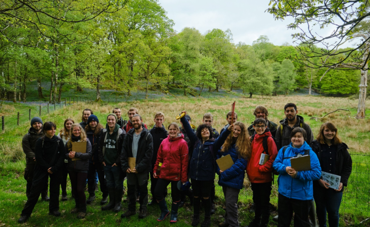 Forestry school participants