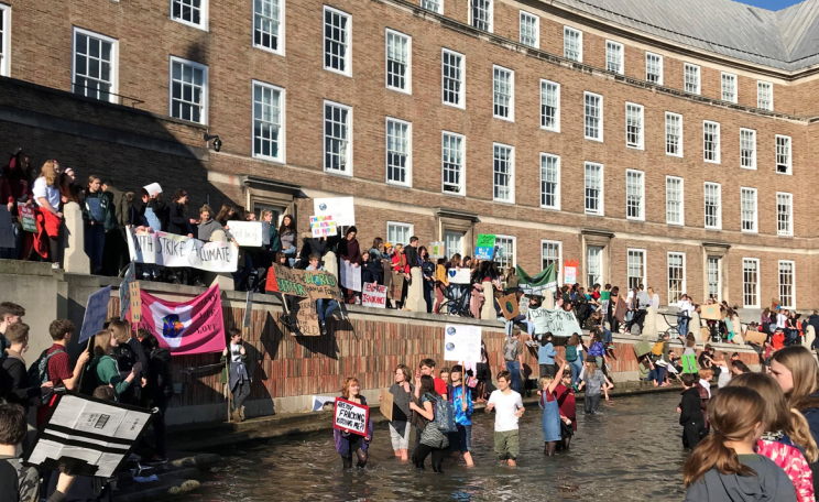 Bristol youth climate strike