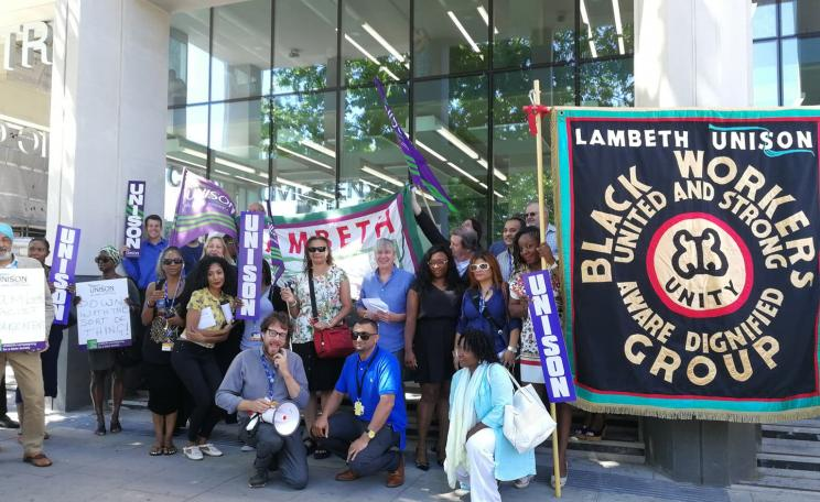 Lambeth council union