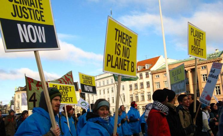 Activists demand climate justice