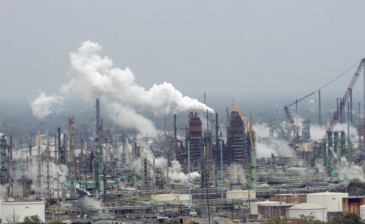 Exxon Mobil Refinery in Baton Rouge, Louisiana