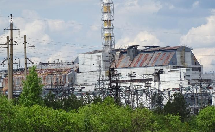 Chernobyl reactor 4, site of the 1986 fire