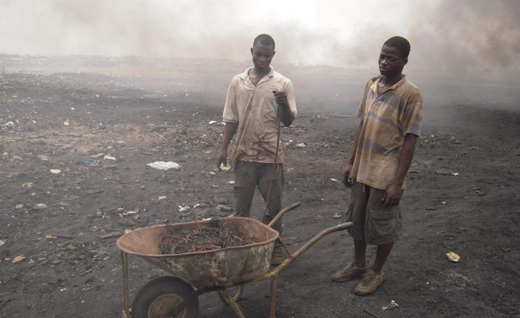 E-waste workers