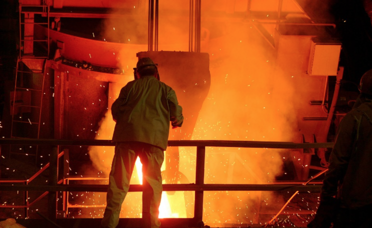 Steelmaking is one of China's coal-hungry industries