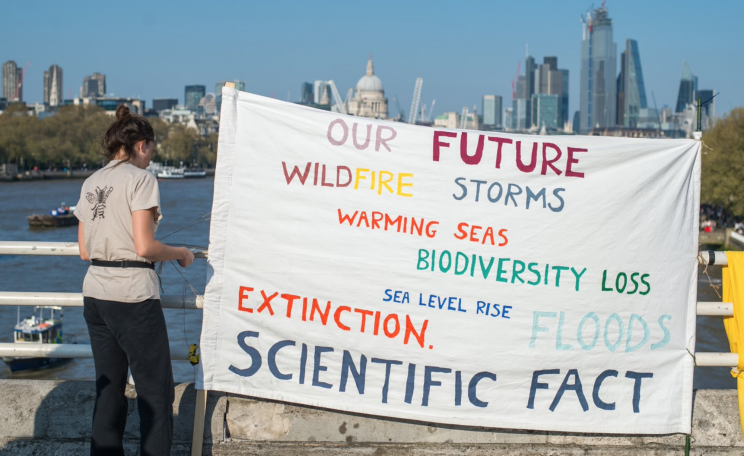 Climate science banner