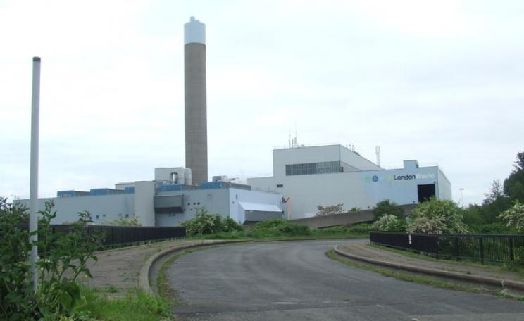Edmonton waste incineration plant
