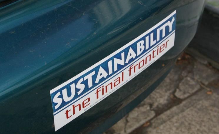 Sustainability - The final frontier