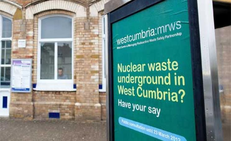 Nuclear waste in Cumbria