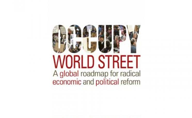 Occupy World Street by Ross Jackson