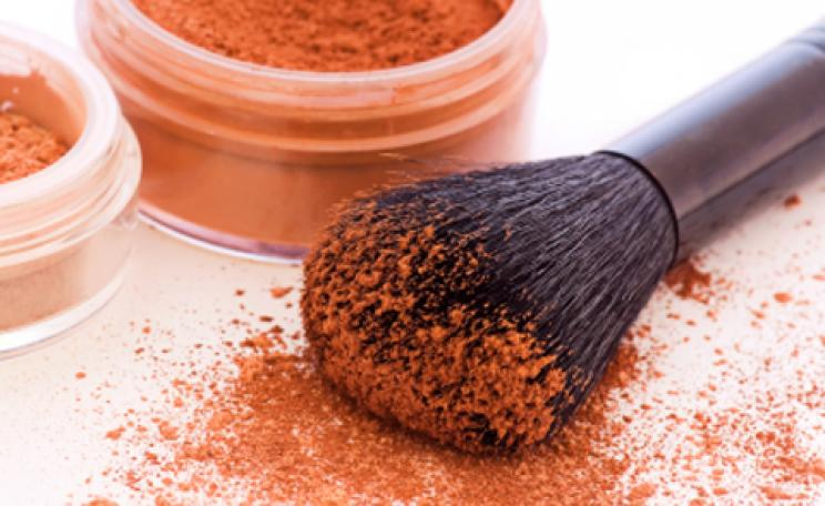 Tried and tested: mineral make-up