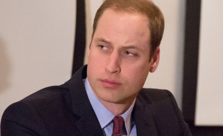 Prince William in a pensive moment at the London Conference on wildlife trade. Photo: Zoological Society of London.