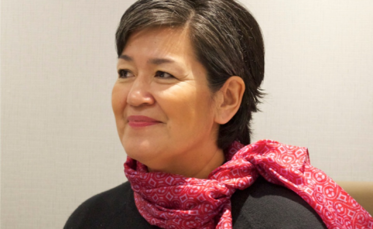 Aleqa Hammond. Photo: Government of Greenland.