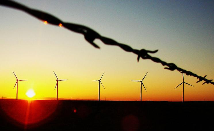 A sunrise industry: wind turbines in Texas. Photo: Chrishna via Flickr.com.