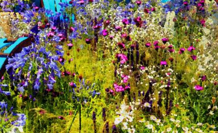 Is everything in Ecover's garden as lovely as it looks? Photo: the Ecover display at Hampton Court Flower Show in 2013, by Lex McKee via Flickr.