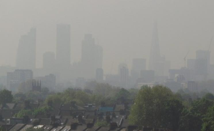 Air Pollution Level 5, London, April 30 2014. Photo: David Holt via Flickr.