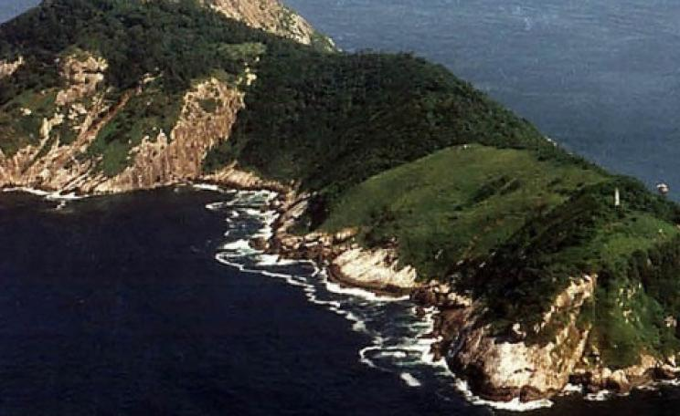 Some 90 miles off the Sao Paulo coast, Ilha da Queimada Grande looks very pretty from far away. But up close, it's terrifying. Photo: Prefeitura Municipal Itanhaém.