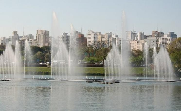 Drought - what drought? Fountains in Sao Paulo disguise the reality that power and water will soon be running catastrophically low. Photo: collectmoments via Flickr.