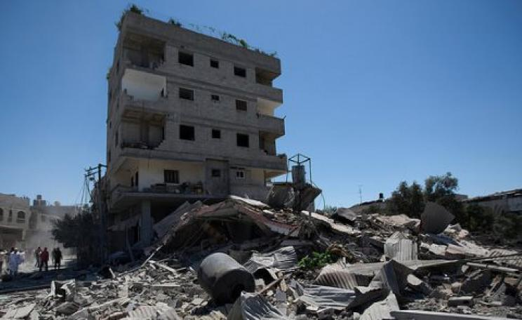 How did we miss that one? Destruction in Gaza, July 2014. Photo: Oxfam International via Flickr.