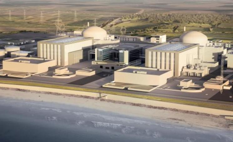 An artist's impression of the Hinkley C nuclear power plant. Image: EDF Energy media library.