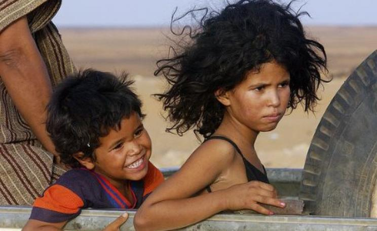 Western Sahara refugee children in Dakhla Refugee Camp, Algeria. Photo: UN Photo / Evan Schneider via Flickr (CC BY-NC-ND 2.0).