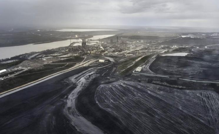 The Alberta tar sands aren't just destroying forests and waters on an industrial scale - they are also destabilising the global economy. Photo: Luc Forsyth via Flickr (CC BY-NC 2.0).