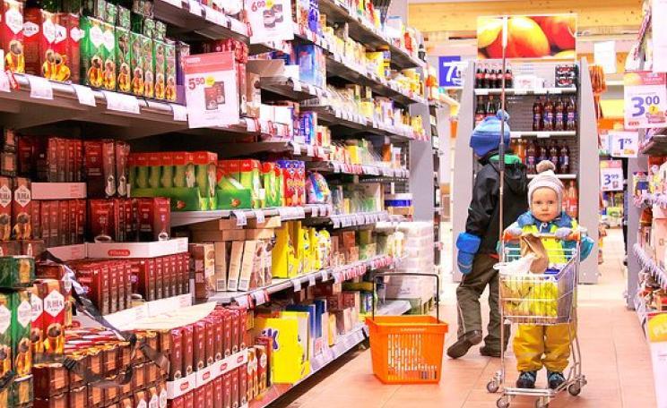 It's estimated that 70% of food products in US supermarkets contain GMO ingredients. With TTIP, things could soon go the same way in the UK and other European countries. Photo:  Jaro Larnos via Flickr (CC BY).