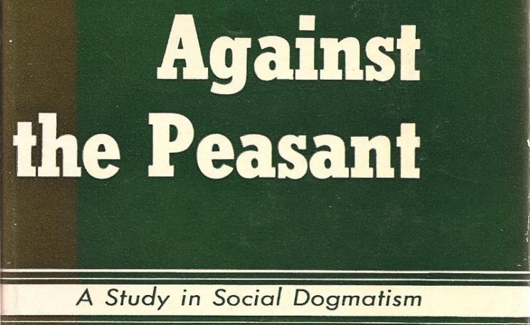 'Marx Against the Peasant' by David Mitrany (1951) front cover (resized).