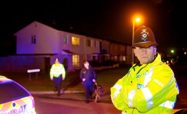 Officers on anti-burglary patrols in the West Midlands, where dispersal powers have been used following burglaries. Photo: West Midlands Police via Flickr (CC BY-SA).