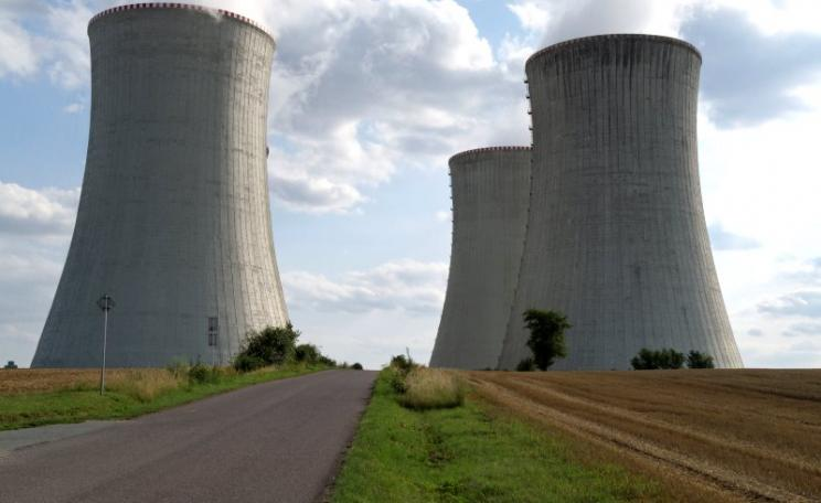 If Hinkley C is allowed, then other will follow in Poland, Czech, Hungary and UK. The Dukovany nuclear complex, Vysocina Region, Czech Republic. Photo: Zruda via Flickr (CC BY-NC-SA).