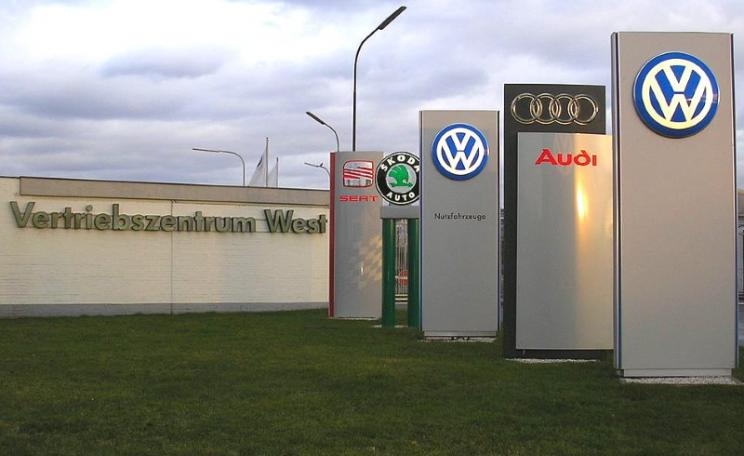 Vertriebszentrum West - Volkswagen group's distribution centre in Germany. Photo: Duhon via Wikimedia (CC BY).